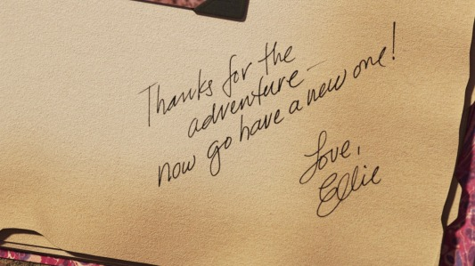 Thanks for the adventure — now go have a new one! Love, Ellie