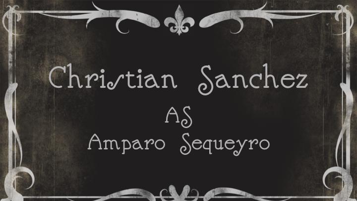 Christian SanchezasAmparo Sequeyro