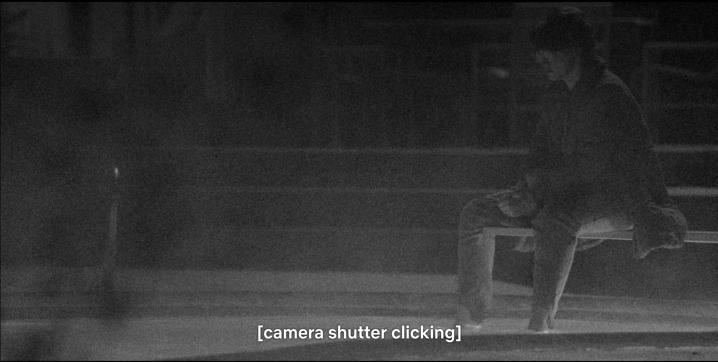 POV MS Nancy Poolside Through Jonathan's Camera